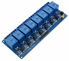 Module de relais 5V (dc,ac) 8 canaux Pour Arduino ou utilisation perso Neuf