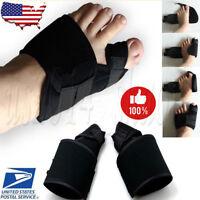 2 x Big Toe Bunion Splint Straightener Corrector Foot Pain Relief Hallux Valgus