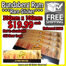 "Bundaberg Rum ""Rare 2006 Released Sticker"""