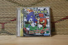 Sonic R Sega Saturn SS Japan Very Good Condition!