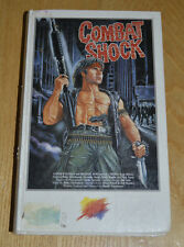 Combat Shock German Ex Rental VHS Horror Pre Cert Troma