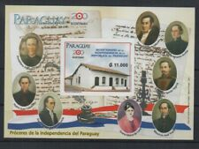 PARAGUAY-STAMPS-2011-VARIETY WITH FULGENCIO TOMAS YEGROS-MNH