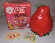 Strawberry Shortcake Vintage 80's Doll carrying case with original box NICE