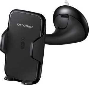 Support chargeur téléphone à induction pour voiture grille ou ventouse QI MUVIT