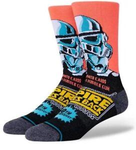 Stance Star Wars Empire Strikes Back Storm Trooper 40th Anniverary Socks L Men's