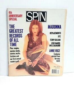 Madonna spin magazine like a prayer oh dear express promo lot tour madame x 12 7