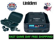 Uniden Radar Detectors Police Laser Best Range Detector 360 Car Mount DFR8 cobra