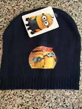 Despicable Me Minions Rock Hat One Size Fits All BNWT