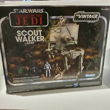 SCOUT WALKER AT-ST HASBRO STAR WARS RETURN OF THE JEDI THE VINTAGE COLLECTION