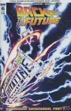 Back To The Future #6 (2016,Idw) Sub Cover, Marques, Gale, 1st Print, Nm