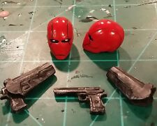 Marvel legends Custom painted Headsculpt Red Hood, Holsters and Desert Eagles