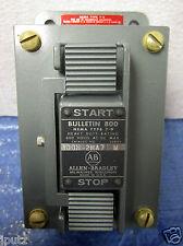 """Allen Bradley NEMA 7-9 Heavy Duty Push Button """"Start - Stop"""" 800H-2HA7 NIB!!!"""