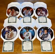 Limited Edition Remembering Elvis Porcelain Collector Plates Bradford Exchange