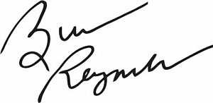 Burt Reynolds Autograph Signature VINYL DECAL Sticker Smokey and the Bandit