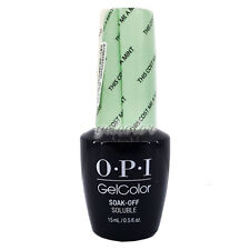 OPI GelColor Soak Off LED/UV Gel Nail Polish 0.5oz This Cost Me a Mint #GCT72