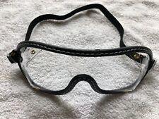 New Black Jockey Goggles Perfect for Halloween, Racing or Skydiving or Yard Work