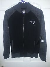 New England Patriots football Full-Zip Jacket NFL fan apparel shirt - Ladies L