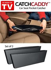 2 Sleeves of CATCH CADDY Car Seat Pocket Catcher Organizer Store AS SEEN ON TV