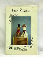 Lynn Dee Inc. L101, 'Rene Reindeer'  by Delores L. Stang - Uncut