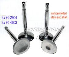 TRIUMPH Valvola Set of 4 Valve Set carbonnitrided e2904 e4603 70-2904 70-4603