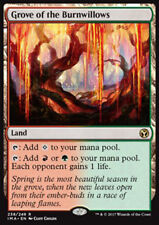 MTG GROVE OF THE BURNWILLOWS - BOSCHETTO DEI SALICI ARDENTI - IMA - MAGIC