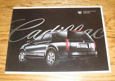 Original 2008 Cadillac SRX Crossover Deluxe Sales Brochure 08