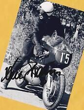 Dieter BRAUN - 2x Motorrad WM - Rares AK Foto - signed - signiert + Gratis - AK