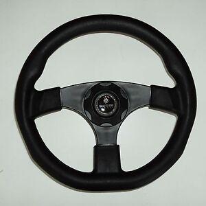 New OEM GUSSI ITALIA Boat Steering Wheel  KEYED HUB