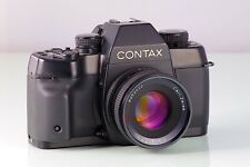 TOP CLASSIC SLR CONTAX ST + CARL ZEISS PLANAR 1.7/50mm C/Y PREMIUM VINTAGE KYOCE