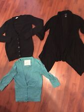 Womens Size Small Lot Cardigans Thin High Low Very Good
