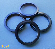 (1024) 4 x anillas de centrado 69,1/57,1 mm gris 9,5mm para llantas de aluminio