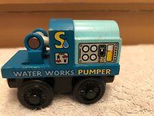 genuine Wood Wooden Thomas Train Tank Engine & Friends Sodor Water Works Pumper