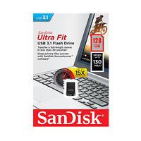 SanDisk Ultra Fit 128GB USB 3.1 Flash Drive USB-Sticks bis zu 150MB/s SDCZ430