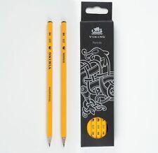 "12-Pack Viking Skoleblyanten HB ""school pencil"" - Made in Denmark since 1914"