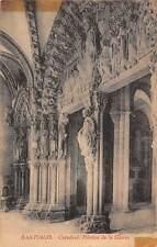 Chile - Santiago - Catedral, Portico de la Gloria