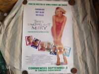 THERE'S SOMETHING ABOUT MARY  ORIGINAL 1 SHEET MOVIE POSTER