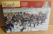 ITALERI PRUSSIAN INFANTRY WATERLOO 1:72 SCALE MODEL SOLDIERS ARMY BATTLE