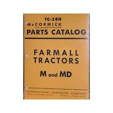 FARMALL M MV Tractor Parts Book Nice International IH