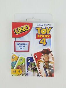 UNO Disney Pixar Toy Story 4 Card Game Mattel New