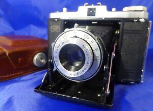 Zeiss Ikon Nettar 517/16 folding 120 roll-film camera - Fully working