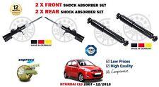für Hyundai i10 1.0 1.1 1.2 2007- > 2x Front + 2x Hinten Stoßdämpfer Satz