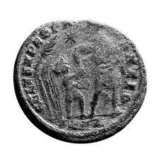 ANCIENT ROMAN COIN RARE CONSTANS 348-351AD FEL TEMP REPARATIO RIC 88/11  #TE51