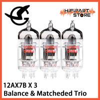 3pcs Shuguang 12AX7B Balace Matched Trio Valve Tube Replace Mullard Psvane ECC83