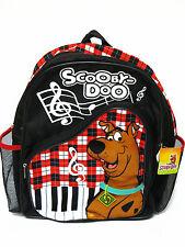 Scooby Doo Black Backpack Bookbag School Bag #Grand Piano