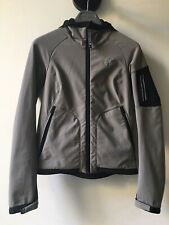 Montura donna khaki technical zippered hooded jacket giacca come nuovo