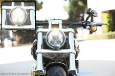 "5.75"" LED Projection Head Lamp CHROME fits Harley Davidson Dyna Sportster"