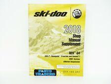 Genuine Ski-Doo Dealer Service Repair Manual Supplement REV G4 MX-Z Renegade 18