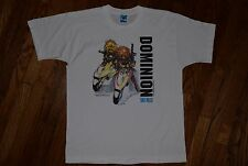 1994 DOMINION tank police vtg 80s manga anime t-shirt sci-fi ghost in the shell