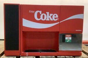 COKE Coca Cola Siemens BreakMate Soda Cooler Dispenser Vending Machine GA 3450