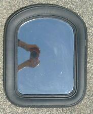Vintage Black Wood Oval Frame Wall Mirror Home Decor